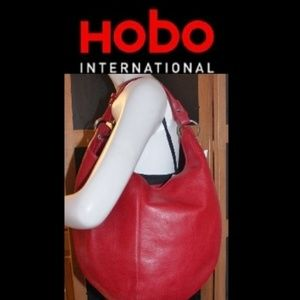 New Hobo The Original Cherry Red Large Bag